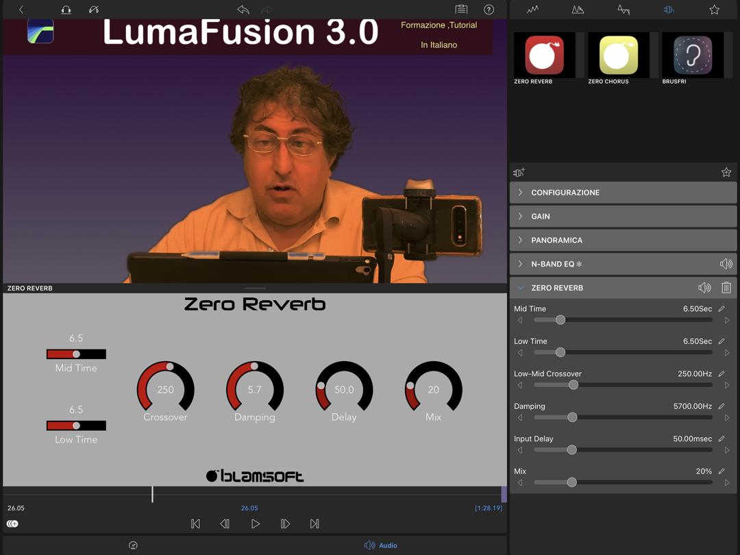 LumaFusion 3.0 Audio Unit